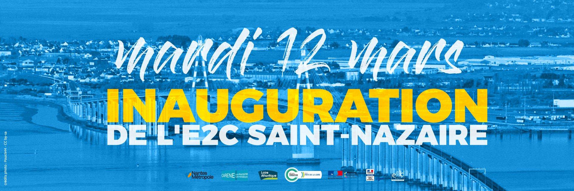 inauguration e2c saint-nazaire